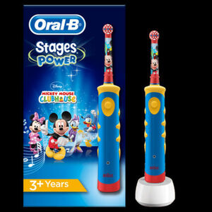 Oral-B Elektrische Kinderzahnbürste Advanced Power Kids 950 Motiv Mickey Mouse
