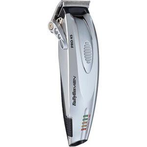 BaByliss Haar- und Bartschneider iPRO 45 intensive E962E, silber