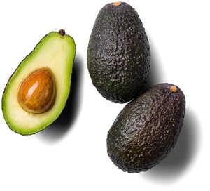 kenianische/chilenische Avocados