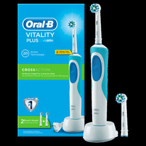Oral-B Elektrische Zahnbürste Vitality Cross Action Plus mit Timer