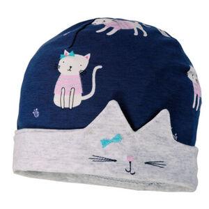 Maximo Mädchen Motiv-Beanie Katze