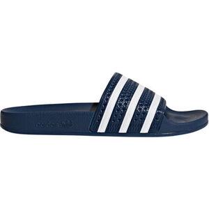 adidas Badeschuh Adilette, blau/weiß, 38, 38