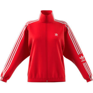 adidas Damen Trainingsjacke Originals, rot/weiß, 40, 40