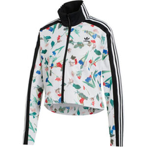 adidas Damen Trainingsjacke Allover Print Originals, mehrfarbig, 40, 40