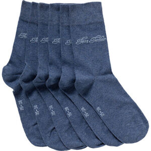 Tom Tailor Damen Socken, 3er-Pack, uni