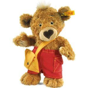 Steiff Knopf Teddybär, goldbraun, Brauntöne