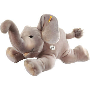 Steiff Trampili Elefant liegend, grau, Grautöne