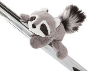 NICI Forest Friends - Magnettier Waschbär Rod, 12 cm