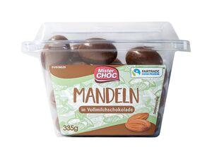 Mandeln/Kirschen/Rosinen/ Espressobohnen in Schokolade