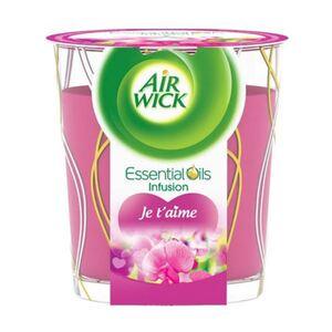 Air Wick Wohlfühl-Duftkerze Je t'aime 105g