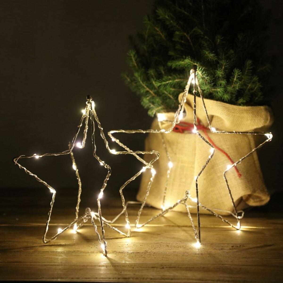 Bild 3 von 3D-Drahtstern mit 15 LEDs 25cm