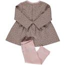 Bild 2 von Baby Mädchen 2er Set, bestehend aus Kleid und Leggings