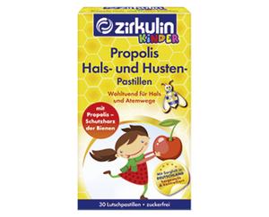 ZIRKULIN KINDER Propolis Hals- und Husten-Pastillen KINDER1/2