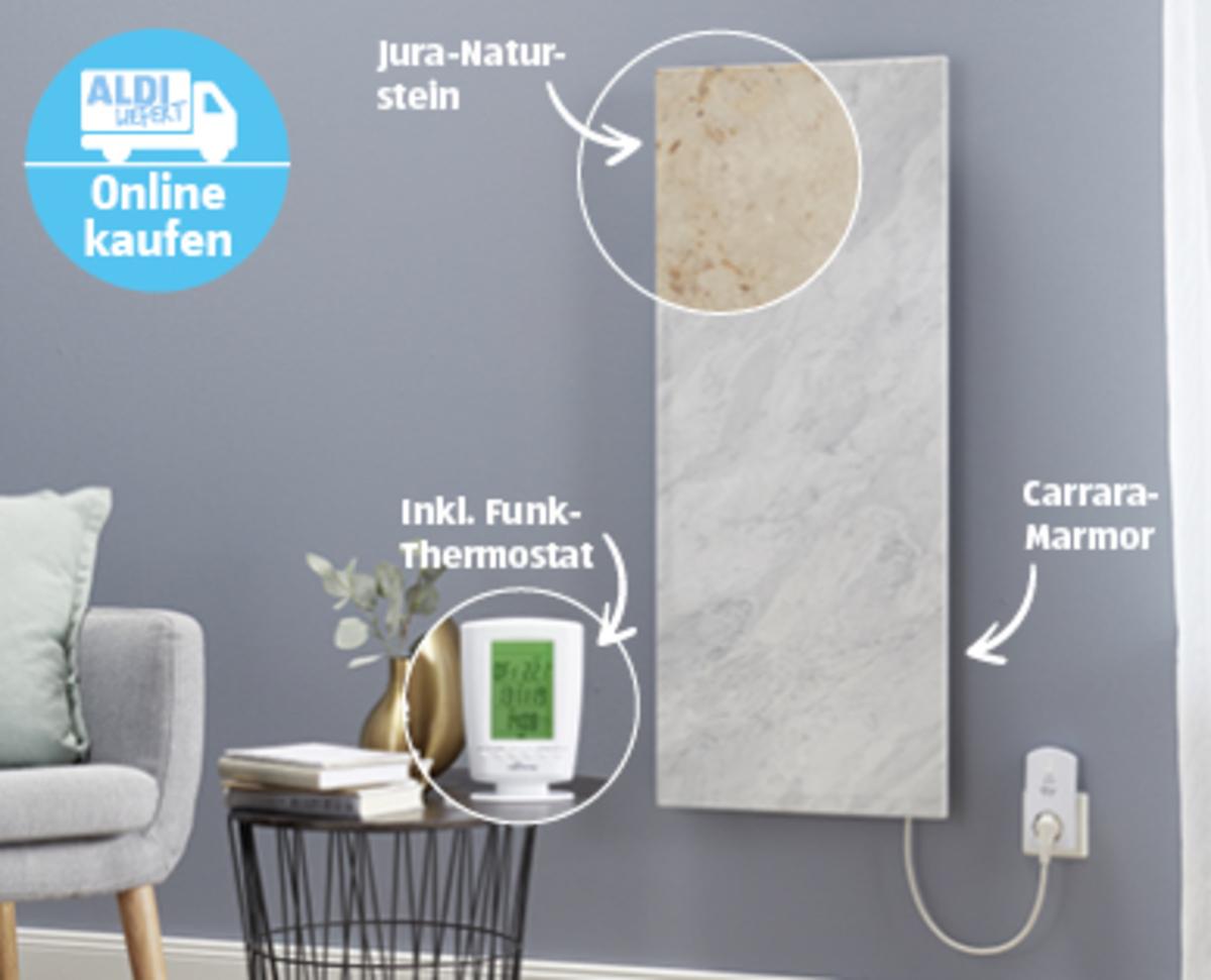 Bild 2 von Marmony Infrarot-Heizung Carrara-Marmor1