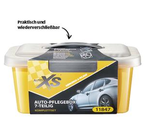 AUTO XS®  Auto-Pflegebox, 7-teilig
