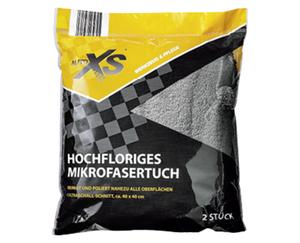 AUTO XS®  2 hochflorige Mikrofasertücher