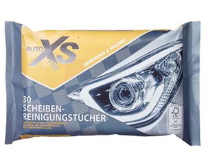 AUTO XS®  30 Auto-Pflegetücher, feucht