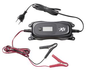 AUTO XS®  KFZ-Batterieladegerät mit Display