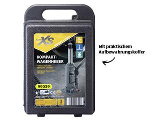 AUTO XS®  Kompakt-Wagenheber