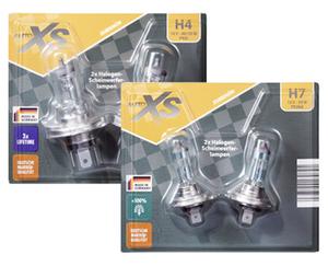 AUTO XS®  2 Halogen-Scheinwerferlampen