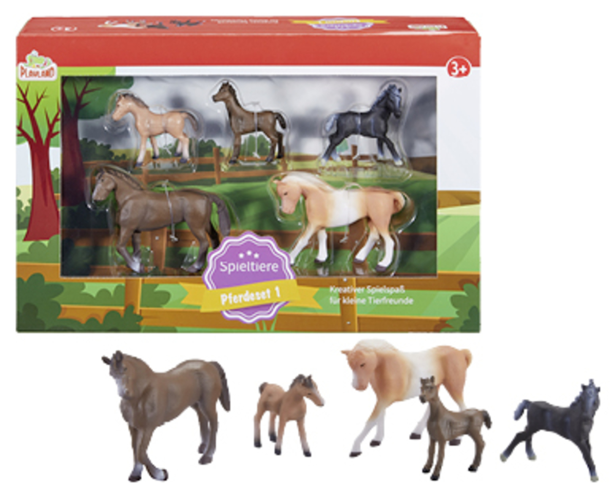 Bild 2 von PLAYLAND Spieltiere-Set