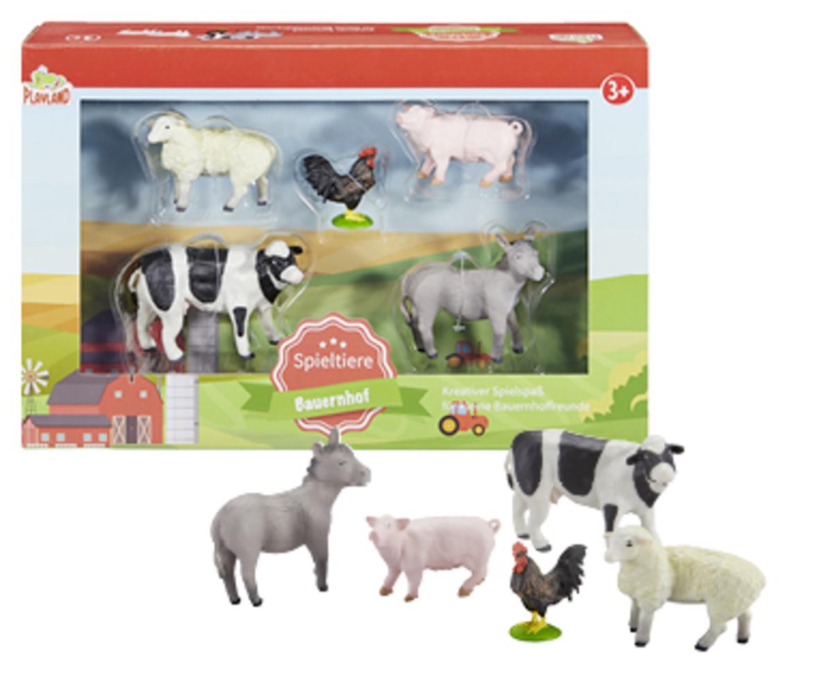 Bild 3 von PLAYLAND Spieltiere-Set