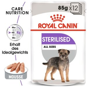 Royal Canin Sterilised Adult Pouch 12x85g