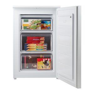MEDION Gefrierschrank MD 37421, 82 l Volumen, Gefrierkapazität 4 kg/24 Std., manuelle Temperatureinstellung, 4 Schubladen