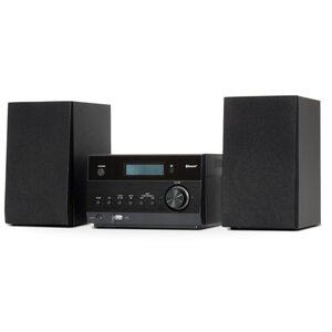 MEDION LIFE® P64122 Micro-Audio-System mit kabelloser Musikübertragung, 30 Senderspeicher, 2 x 50 W max. Musikausgangsleistung