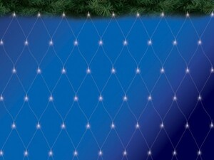TrendLine LED Lichternetz ,  160 LED, weiß