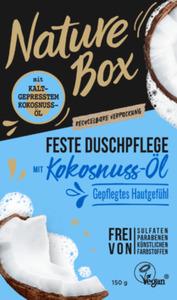 Nature Box  Festes Duschgel Kokosnuss-Öl