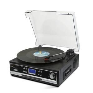 Bluetooth Platten- und Kassettenspieler mit Digitalisierungsfunktion Technaxx