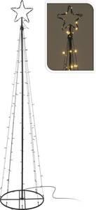 Turm mit Stern, 240cm, 140 LED