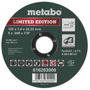 Trennscheiben Inox Special Edition II, 125 mm, 25 Stück Metabo