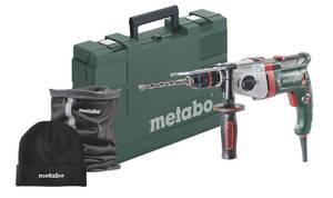 Elektronik 2-Gang Schlagbohrmaschine SBEV 1000-2 inklusive Winterset Metabo