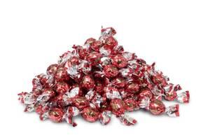 "Pralinen ""Praline in Busta"", Haselnuss, Rot, 1000 g"