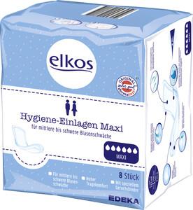 Elkos Hygiene Einlagen Maxi 8 Stück