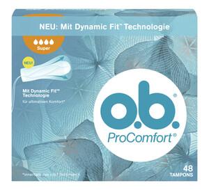 o.b. ProComfort Tampons Super 48 Stück