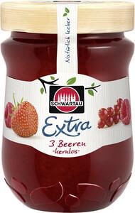 Schwartau Extra Konfitüre 3 Beeren kernlos 340 g