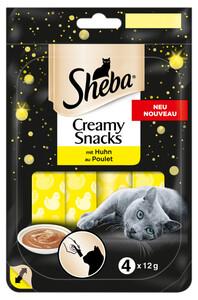 Sheba Creamy Snacks mit Huhn 4x 12 g