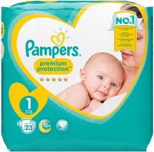 Pampers Premium Protection Gr.1 2-5kg 23 Stück