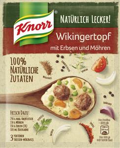 Knorr Natürlich Lecker! Wikingertopf mit Erbsen und Möhren 32 g