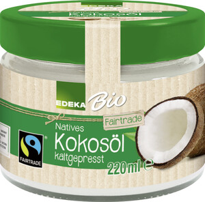 EDEKA Bio Natives Kokosöl kaltgepresst 220 ml