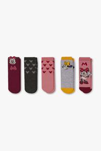 Minnie Maus - Baby-Socken - 5 Paar