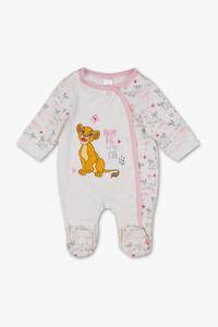 König der Löwen - Baby-Schlafanzug - Bio-Baumwolle
