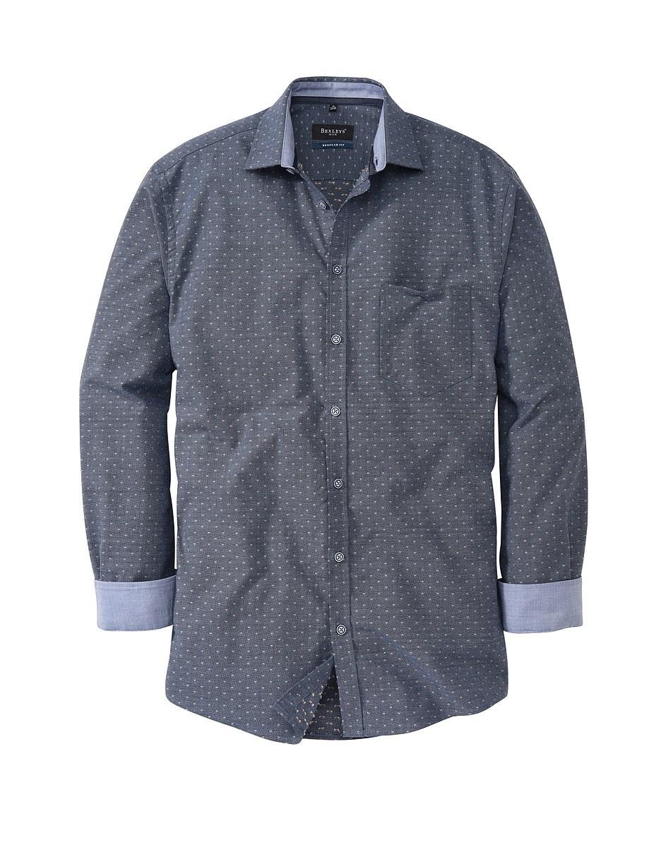 Bild 1 von Bexleys man - Freizeithemd, langarm, gemustert