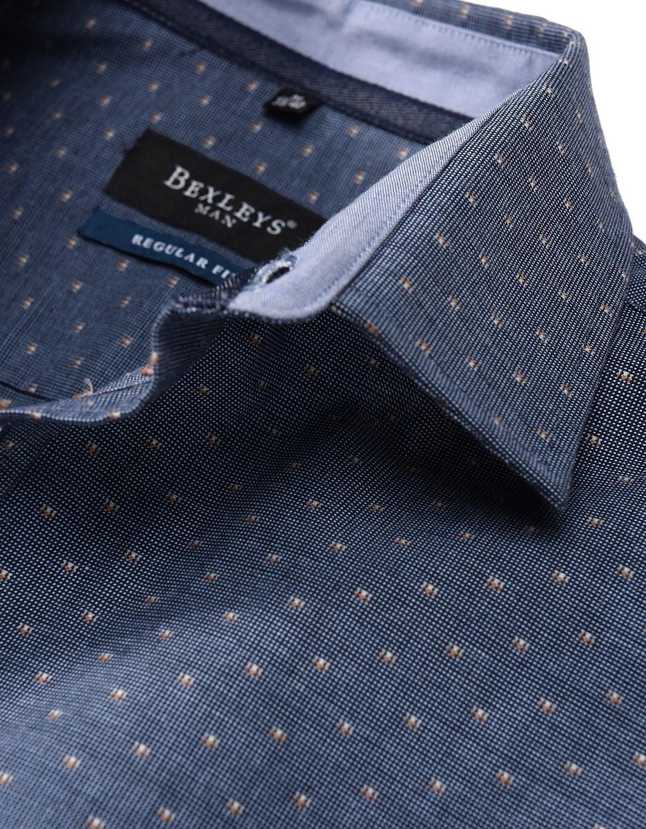 Bild 2 von Bexleys man - Freizeithemd, langarm, gemustert