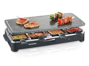 SEVERIN Raclette-Grill mit Naturgrillstein RG 2343