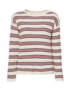 Esprit - Pullover mit College-Streifen