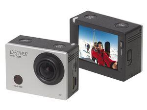 DENVER Full-HD Action-Cam mit Wifi mit Display ACT-5030W